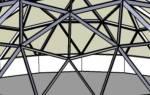 Геодезический купол на даче — интересные идеи оформления оранжереи