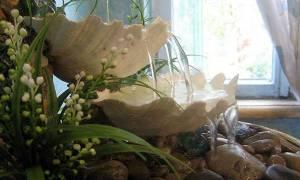 Декоративный фонтан своими руками: инструкция с фото, схема