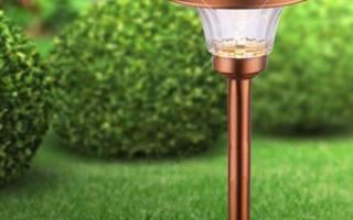 Фонари на солнечных батареях: как использовать разные типы фонарей в оформлении дачного участка