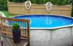 Как сделать бассейн на даче своими руками, инструкция с фото