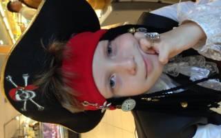 Кота одели в костюм пирата Джека Воробья