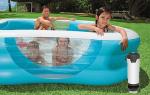 Бассейн с подогревом: какое оборудование лучше установить для нагрева воды и воздуха
