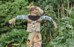 Огородное пугало для дачи своими руками: как сделать, фото