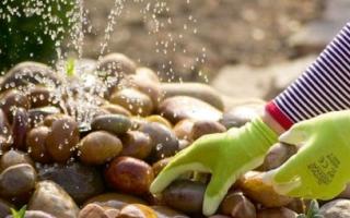Как сделать фонтан на даче своими руками, идея, описание