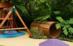 Как создать детскую комнату на даче правильно