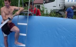 Превращаем недостатки рельефа в достоинства: бассейн а склоне