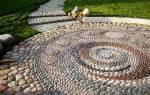 Дорожки из камня своими руками на даче и в саду: какой материал использовать, укладка + фото