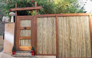 Как сделать забор своими руками из подручных материалов: пошаговая инструкция по изготовлению и украшению, фото и видео