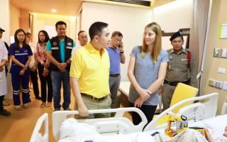 Леопард напал на ребёнка в Таиланде