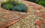 Дорожка из гальки на даче своими руками: как сделать садовую тропу по всем правилам