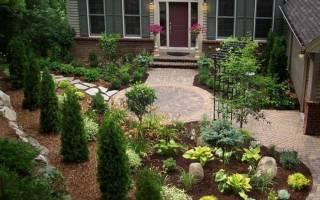 Как оформить палисадник перед домом своими руками: фото идеи дизайна