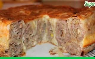 Теперь мясные пироги готовлю только по этому рецепту!