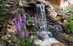 Водопады-каскады: фото ландшафтного дизайна и строительство своими руками