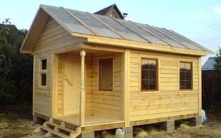 Как построить баню на даче: выбор материалов и этапы строительства