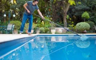 Уход за бассейном своими руками: какие способы очистки нужны различным видам бассейнов