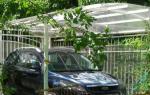 Стоянка для машины на даче: роскошь или объективная необходимость