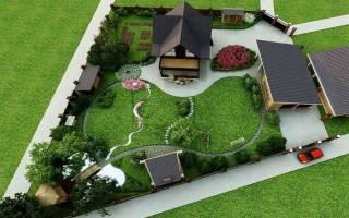 Дизайн маленького сада своими руками: фото и идеи оформления небольшого участка