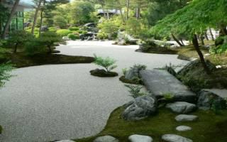 Японский сад камней своими руками: идеи+фото