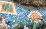 Дорожки на даче из пластиковых бутылок: садовый настил из ненужной тары и крышек