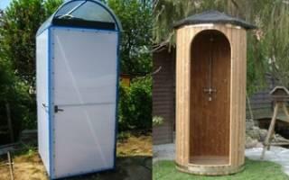 Душевые кабины для дачи: три популярных садовых варианта + видео