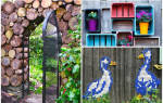 Как сделать оригинальный забор на дачном участке: идея с описанием
