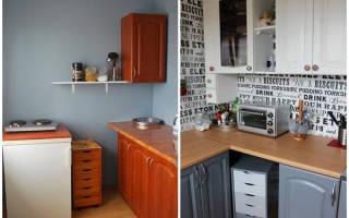 Как обновить кухню на даче без ремонта