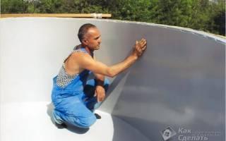 Гидроизоляция бассейна изнутри и снаружи своими руками: все способы и материалы