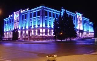 Освещение фасадов частного дома: архитектурное освещение зданий на участке