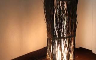 Светильник для дома своими руками: из ниток и клея, из ткани, потолочные, настенные и напольные