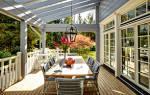 Как оформить веранду загородного дома или на даче: фото идеи дизайна
