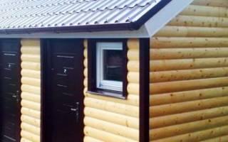 Строим складское помещение на даче сами