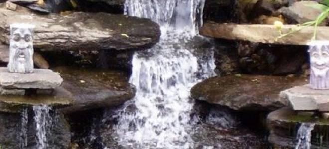 Мини-водопад своими руками для дома и сада: как сделать декор своими руками