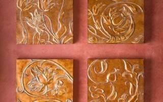 Как сделать декоративную улитку из керамической плитки своими руками