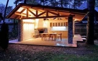 Место для мангала на даче: фото и советы по выбору участка и обустройству площадки