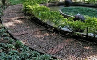 Мягкая дорожка: как сделать удобные и безопасные насыпные тропы на даче