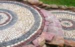 Укладка природного и искусственного камня: работаем с диким и декоративным бордюрным камнем