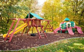 Детские игровые площадки для дачи своими руками: фото идеи дизайна