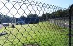 Забор из сетки рабицы своими руками: все способы монтажа с инструкциям и советами