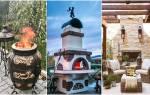 Барбекю для дачи: построить своими руками или купить готовое + фото