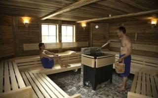 Электрическая печь для бани и сауны