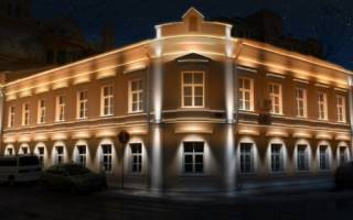 Наружное светодиодное освещение зданий на участке: варианты архитектурной подсветки