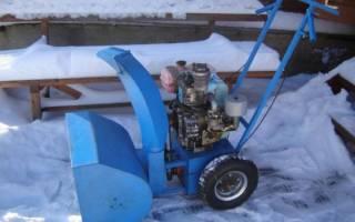 Снегоуборщик своими руками из бензопилы и триммера: чертежи и инструкции по изготовлению