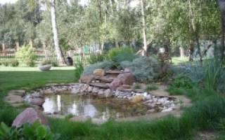 Искусственные водоемы: фото и технологии строительства