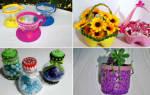 Делаем поделки из бутылок для сада – получаем эксклюзивный арт-объект