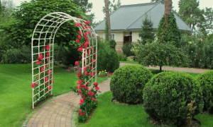 Дизайн арки для сада: идеи с фото и мастер-класс по строительству своими руками