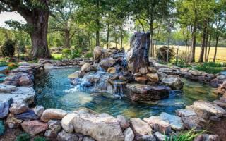 Искусственные водопады для дома и зимнего сада своими руками: как сделать и украсить