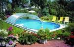 Павильоны для бассейнов: как построить павильон для бассейна своими руками
