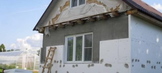 Утепление фасада своими руками: теплоизоляционными плитами и панелями, термопанелями, описание с фото