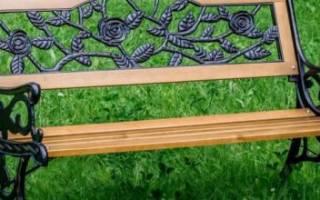 Как сделать скамейку своими руками, инструкция с фото, схема