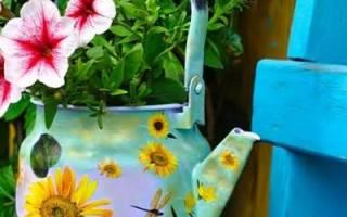 Как создать поделки для дачи из подручных средств и материалов + видео